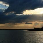 Озеро Круглое. Туту мы рыбачить не стали.