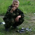 Довольный Димас с кучей рыбы :)