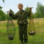 Димас Андреевич с уловом