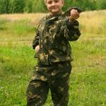 Димас Андреевич выпендривается с карасем