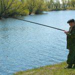 В процессе рыбалки